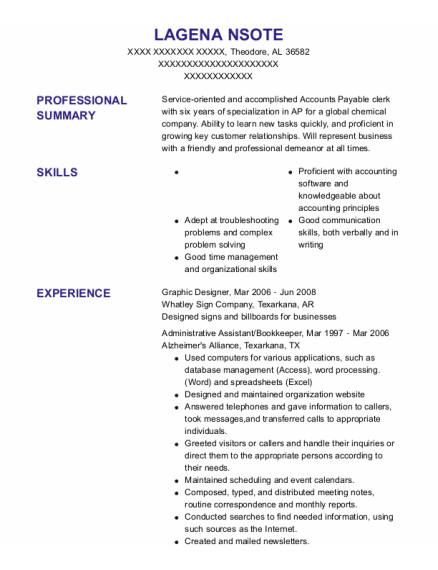 Graphic Designer resume format Alabama