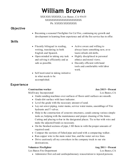 20 Best Construction Worker Resumes Resumehelp