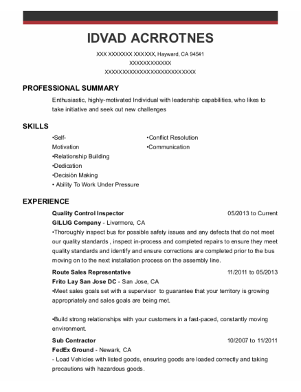 Examples of letters of application for a job