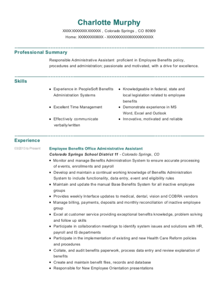 downstate medical center office administrative assistant resume sample
