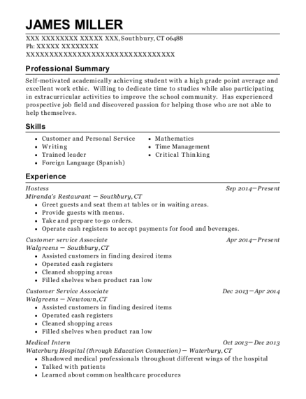 Best Medical Intern Resumes | ResumeHelp