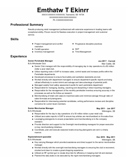 Carpenter resume format Delaware