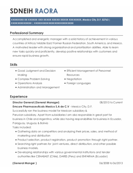Market Research Analysts and Marketing Specialists resume example DF