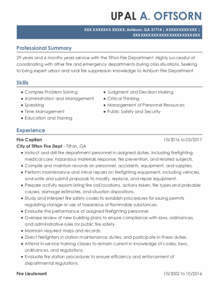 Fire Department Promotional Resume Template from onlineresumehelpprodcdn2.azureedge.net