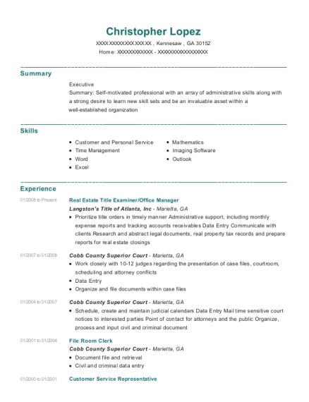 The Nls Group Right Of Way Agent Resume Sample - Kimberton