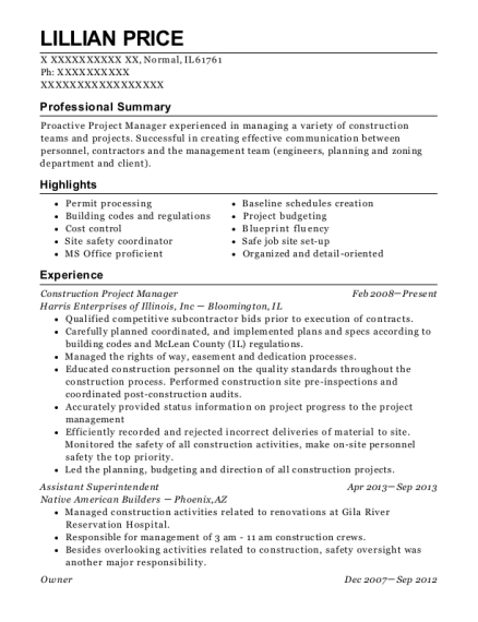 Construction Project Manager Resume from onlineresumehelpprodcdn2.azureedge.net