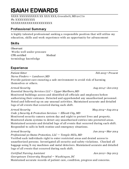 St Margarets Upmc Hospital Cardiac Monitor Tech Ii Resume