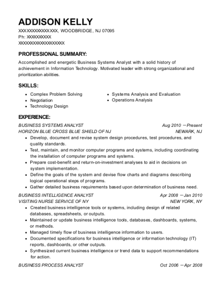 The Hershey Company Senior Supply Planner Resume Sample
