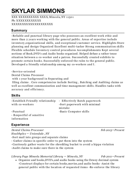 state farm insurance claims processor resume sample