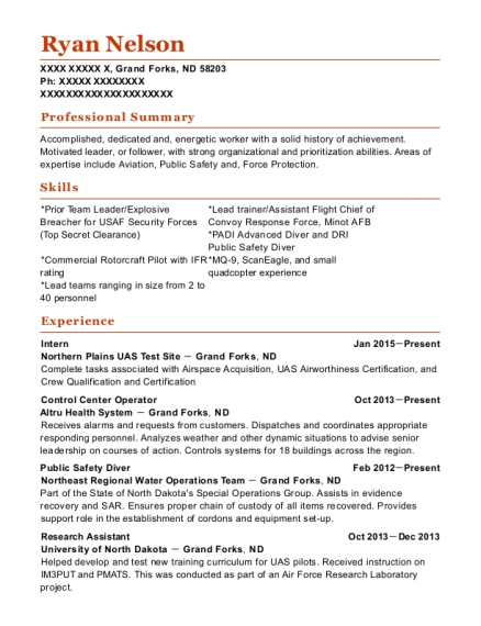 Diver Resume Samples | QwikResume