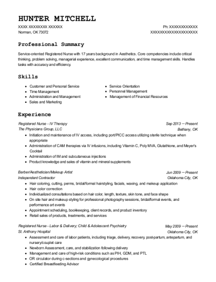 bluewater spa medical aesthetician resume sample