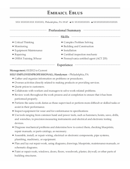 Management resume sample Pennsylvania