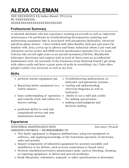 Boeing Aircraft Electrician On Boeing 787 Resume Sample