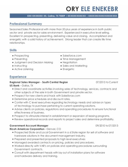 Best Strategic Account Manager Resumes