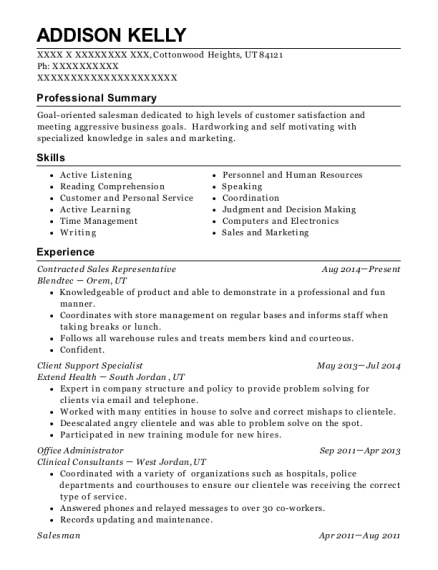 Ernst Amp Young Llp Client Support Specialist Resume Sample